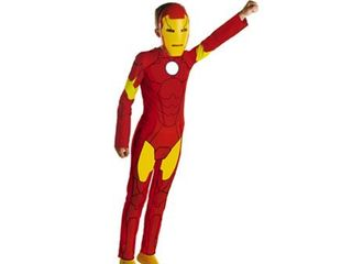 Iron Man Animated Classic Disguise  Size 4 to 6