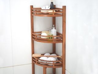 Cambridge Casual Estate Spa Teak Corner Shelf  Retail 139 99