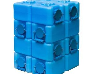 WaterBrick Blue 3 5 Gallon  8    FoodBrick Green 3 5 Gallon  2   Retail  184 00