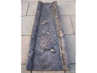 Oakland living Animals Cast Aluminum Premium Splash Block   Cast Aluminum  Retail 89 98