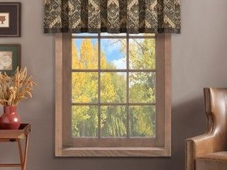 Carbon loft Pulsifer Window Straight Valance  Set of 2   Retail  135 89