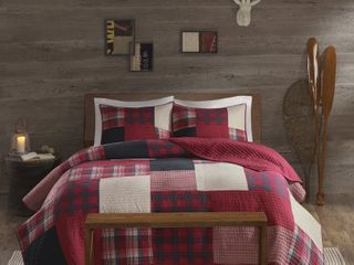 Woolrich Sunset Cotton Printed Pieced Quilt Full Queen  Retail  82 02