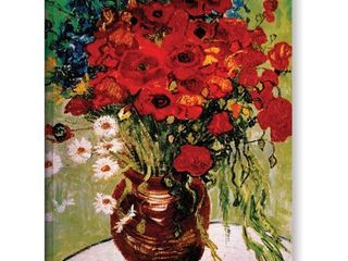 Vincent van Gogh  Dasies and Poppies  Wrapped Canvas  Retail  59 48
