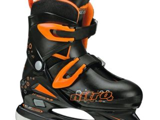 lake Placid Nitro 8 8 Boy s Adjustable Figure Ice Skates  Retail  33 92