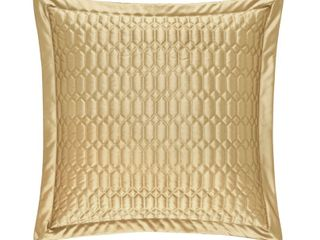 Five Queens Court Sandra Quilted Euro Sham 26  x 26   Retail  39 99
