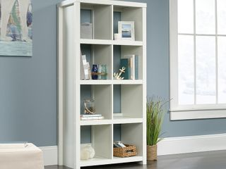 Sauder HomePlus Collection 8 Cube Bookcase White  Retail  179 99