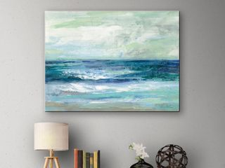 ArtWall Silvia Vassileva s Tide Gallery Wrapped Canvas  Retail  47 59