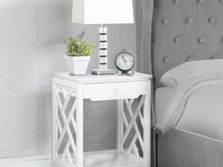 Torrey Chippendale style Nightstand by Greyson living  Retail 153 99