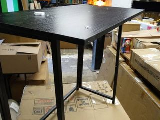 Black Folding Table for Small Spaces
