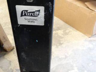 Sanitizing Wipes Station