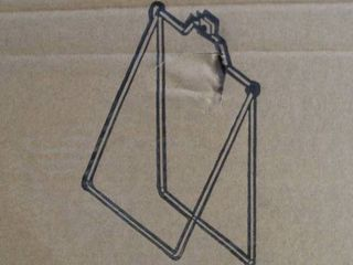 lot of White Tent Sign Holders
