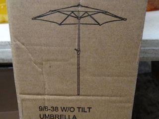 Grand Patio 9ft Aluminum Patio Umbrella