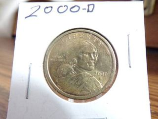 2000 D SACAGAWEA DOllAR