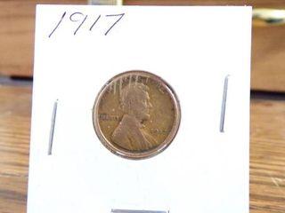 1917 WHEAT PENNY