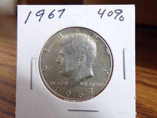 1967 KENNEDY HAlF   40  SIlVER