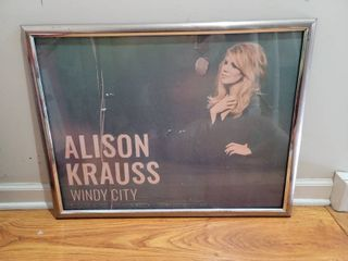 Alison Krauss Windy City Framed Poster