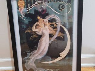 Hermann Co  Maid of the Moon Poster in 3D Frame