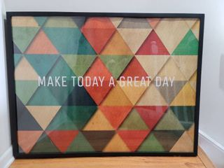 Make Today a Great Day Geographic Wall Decor