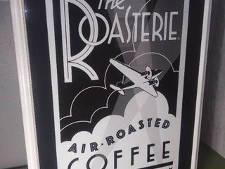 The Roasterie Air Roasted Coffee Kansas City Wall Hanging Framed Picture Decor