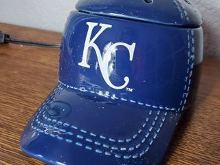 KC Royals Hat Ceramic  Scentsy  Tested and Working