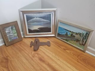lot of Four Pieces of Wall Art