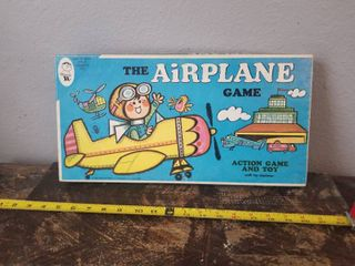 The Airplane Game  Vintage Hasbro Board Game