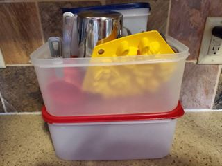 lot of Kitchen Container and Other Tools