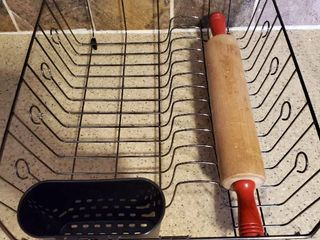 Rolling Pin and Dish Stariner Rack
