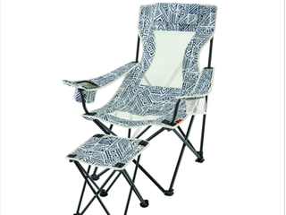 Ozark Trail lounge Camping Chair with Detached Footrest