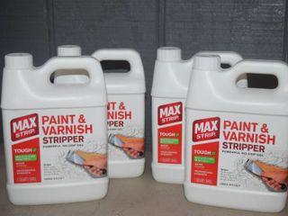 4 Quarts Max Strip Paint and Varnish Stripper