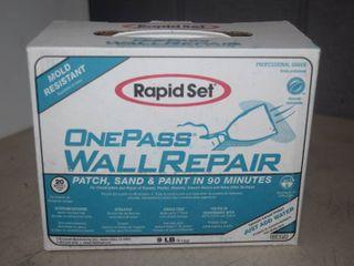 Rapid Set One pass Wall Repair Kit