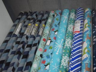 13 Rolls Wrapping Paper