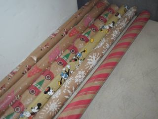 6 Rolls Wrapping Paper