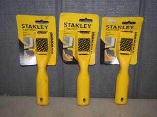 3 Pack Stanley Surform Shavers