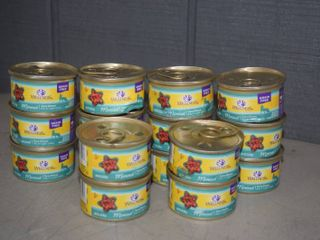 16 Cans Wellness Cat Food   Expires 3 24 23