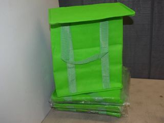 9 Insulated Shopping Bags 13  x 15  x 8