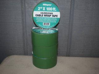 4 Rolls Milspec Coldweather Cable Wrap Tape