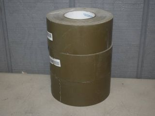 3 Rolls Military Grade Duct Tape   Army Green   2 3 4  wide