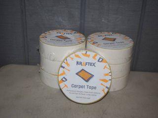 7 Rolls Kraftex Carpet Tape