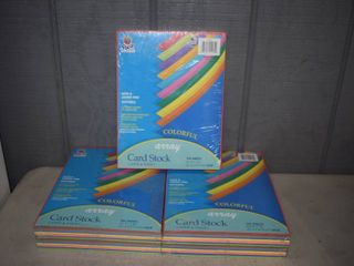500 Sheets Pacon Colorful Array Card Stock