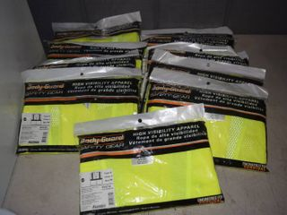 10 Fastenal Body Guard Safety Gear Hi Vis Vests   Size 2Xl