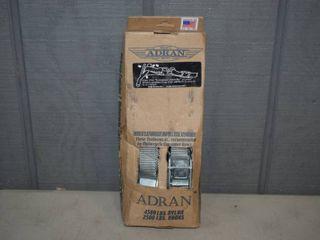 2 Pack Adran Heavy Duty Motorcycle Tiedowns
