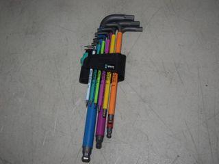 Wera Hex Plus Allen Wrench Set