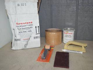 Firestone QuickSeam lVOC Tape Seaming Kit