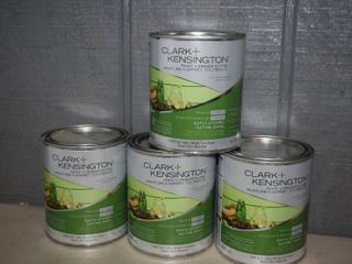 4 Quarts Clark Kensington Paint Primer Exterior Satin Enamel
