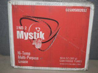 10 Tubes Mystik Hi Temp Multi Purpose Grease