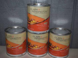 4 Quarts Clark Kensington Paint Primer Interior Exterior Semi Gloss