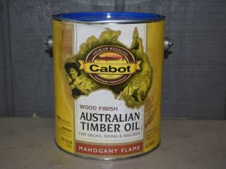 Gallon Cabot Australian Timber Oil