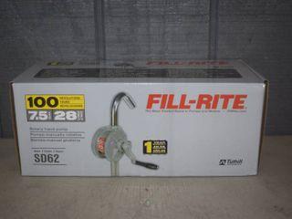 Fill Rite Rotary Hand Pump