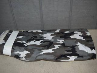 Bolt Gray Black Camo Fabric 42  x 15 yards